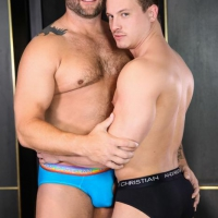 Colby Jansen and Tommy Regan
