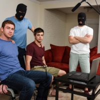Johnny Rapid, Will Braun, Jason Maddox and Connor Maguire