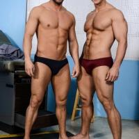 Landon Mycles and Rod Pederson