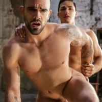 Topher DiMaggio and Damien Cross Superman Gay Porn Parody