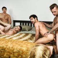 Allen Lucas, Axel Kane, Brian Michaels, Nicolas Ryder, Ty Mitchell