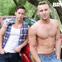 Tobias, Brandon Evans, bareback rednecks