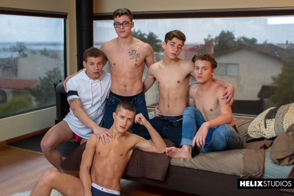 Blake Mitchell, Sean Ford, Joey Mills, Wes Campbell, Corbin Colby