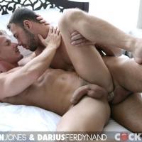 Brandon Jones and Darius Ferdynand At Cockyboys