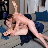 Brent Corrigan and Griffin Barrows