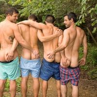 Brysen, Daniel, Jayden & Manny, Sean Cody