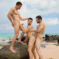 Brysen, Randy, and Manny, Sean Cody
