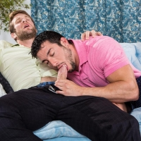 Colby Keller and Casey Moore