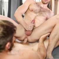 Colby Keller and Jacob Peterson