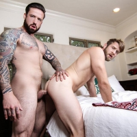 Colby Keller and Jordan Levine