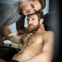 Colby Keller and Wesley Woods