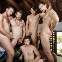 Addison Graham, Brandon Moore, Colby Keller, Roman todd and Will Braun