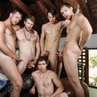 Addison Graham, Brandon Moore, Colby Keller, Roman todd and Will Braun