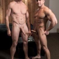 Damien Stone and Pierce Paris