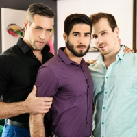 Diego Sans, Alex Mecum, Blake Hunter