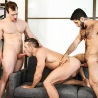 Diego Sans, Alex Mecum, Blake Hunter
