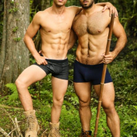 Diego Sans and Kaleb Stryker