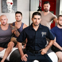 Diego Sans, Tristan Jaxx, Allan Lucas, Colton Grey, Sean Duran