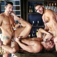 Dirk Caber, Jimmy Durano, and Jackson Grant