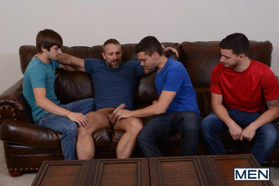 gay orgy father