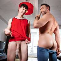 Finn Harding and Alex Mecum