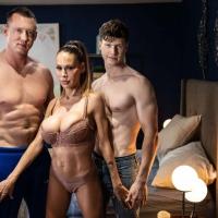 Finn Harding, McKenzie Lee, and Pierce Paris