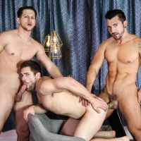Jimmy Durano, Roman Todd, and Griffin Barrows