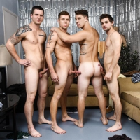 Johnny Rapid, AllenLucas, Justin Matthews, Paul Canon