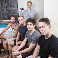 Johnny Rapid, Will Braun, Brendan Phillips, Wesley Woods, Tobias