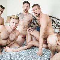 Jordan Levine, Cliff Jensen, Jay Austin, Jacob Peterson, Paul Canon