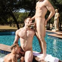 Justin Matthews, Will Braun, Blake Hunter