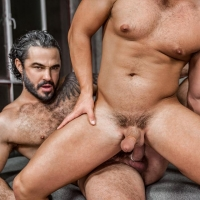 Luke Adams and Jessy Ares Star Wars Gay Porn Parody