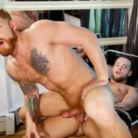 Luke Adams and Bennett Anthony