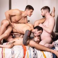 Malik Delgaty, Sean Peek, Thyle Knoxx, Dex Parker