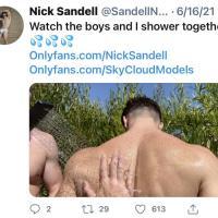 Nick Sandell Naked