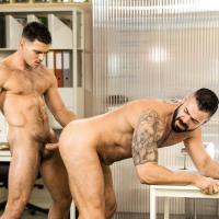 Paddy O'Biran and Victor D'Angelo
