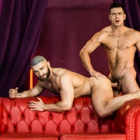 Paddy O'Brian and Francois Sagat