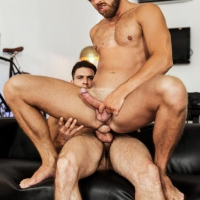 Paddy O'Brian and Logan Moore