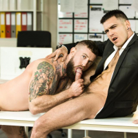 Paddy O'Brian and Troy Daniels