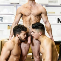 Paddy O'Brian, Pietro Duarte, Ken Summers