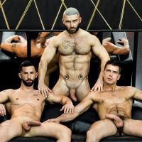 Paddy O'Brian, Sunny Colucci, Francois Sagat
