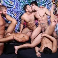 Runaway Orgy Rafael Alencar, Colby Jansen, Ricky Decker, Nicoli Cole, Seth Santoro