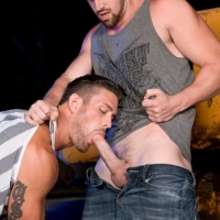 Ryan Rose and Andrew Stark At Raging Stallion