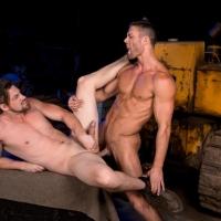 Ryan Rose and Andrew Stark At Raging Stallion