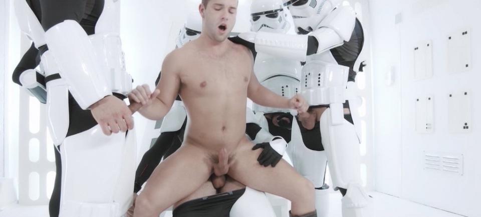 Luke Star Wars Porn Parody - Luke Adams Star Wars Gay Porn
