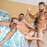 Colby Jansen, Johnny Rapid, and Billy Santoro
