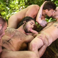 Tarzan, Diego Sans, Tobias, Colton Grey, Luke Adams