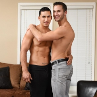 Topher DiMaggio and Austin Carter