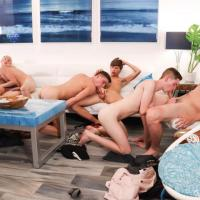 Travis Stevens, Trevor Harris, Johnny Hands, Riley Finch, Chase Williams, Keagan Case
