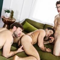 Will Braun, Diego Sans, and Dennis West
